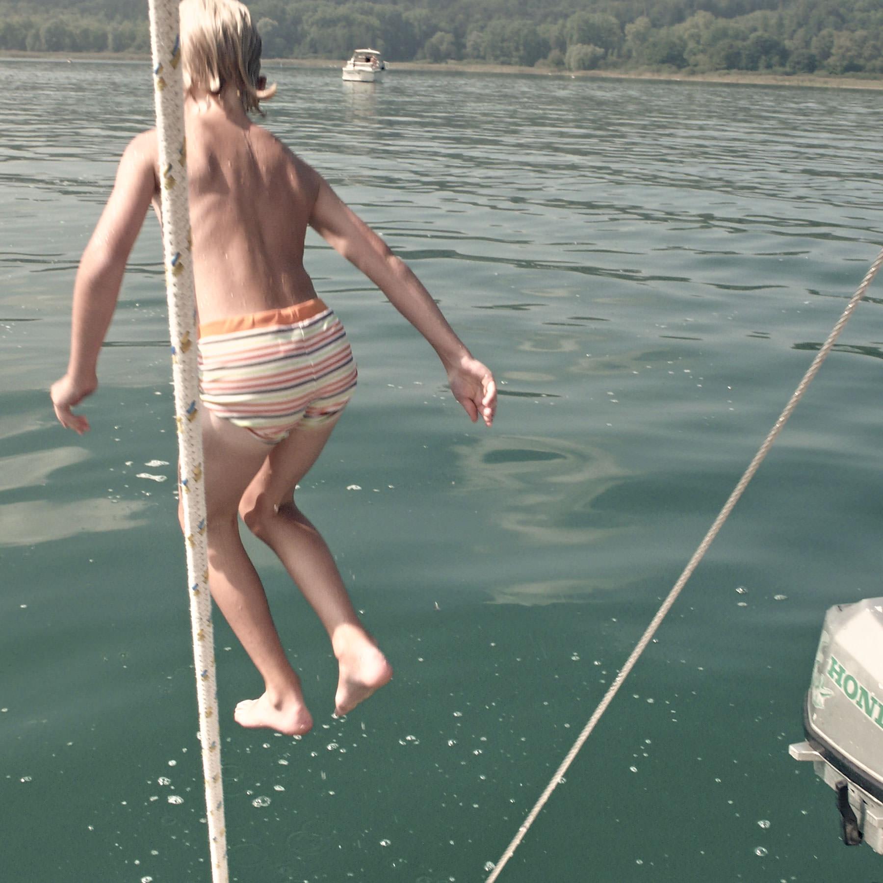nice jump, Lac de Constance, 2009