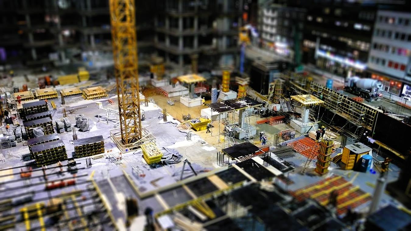 mini construction site – Essen, October 2008