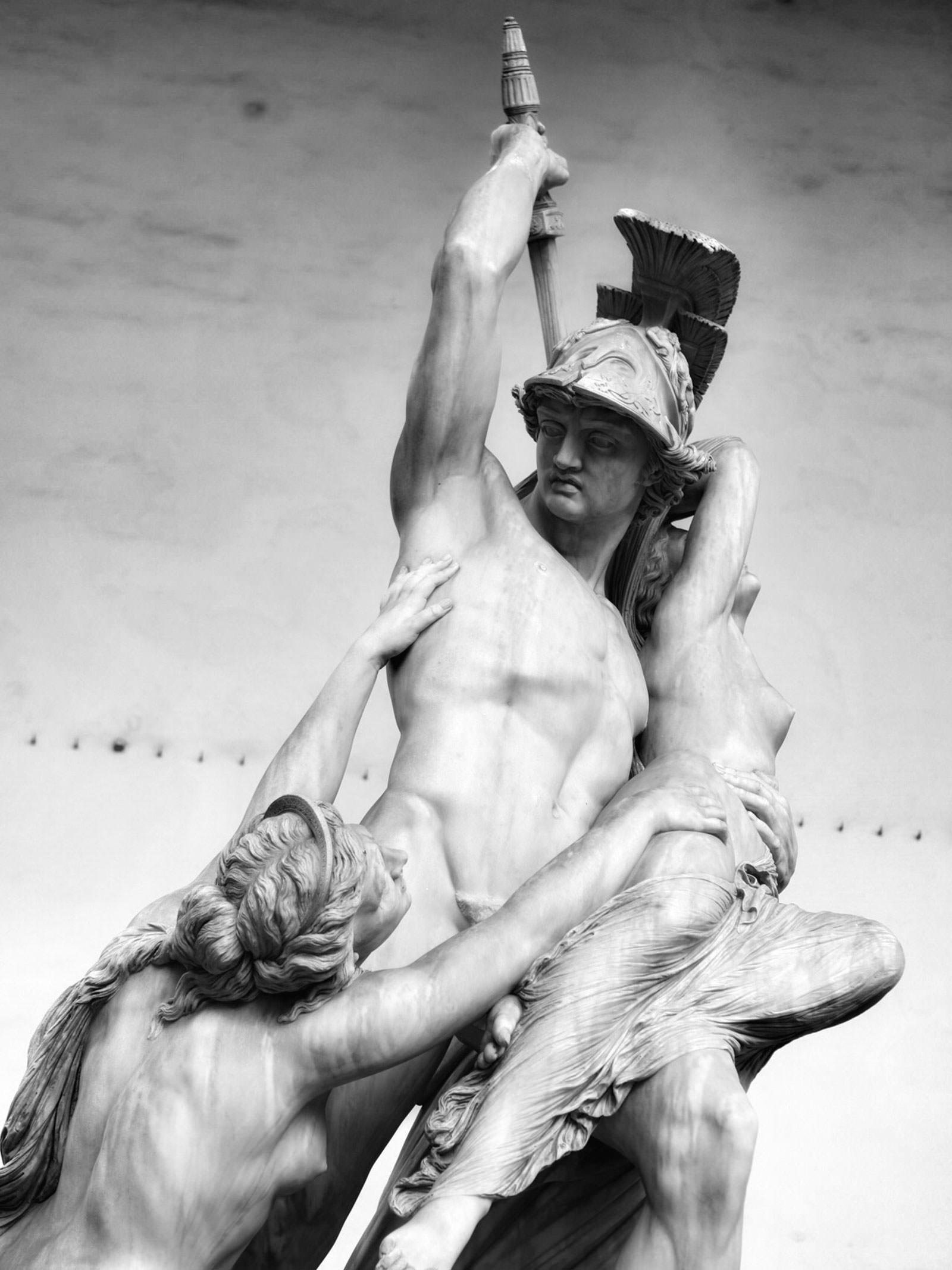 The Rape of Polyxena 😬 from Pio Fedi, Loggia dei Lanzi, Florence, October 2018