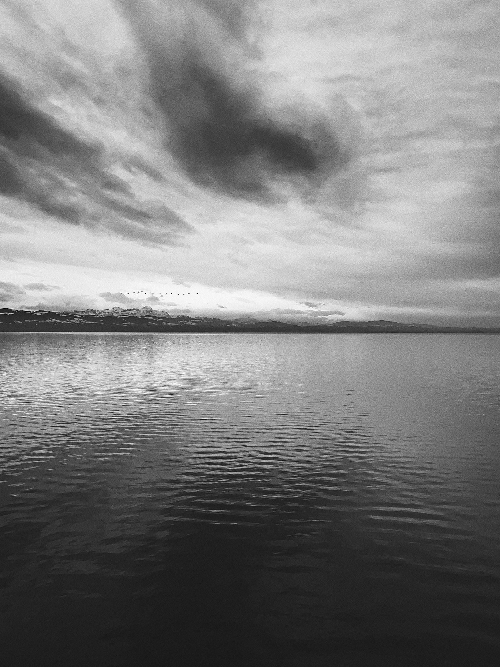 Lake Constance, Langenargen, February 2019 Processed with VSCO with b5 preset