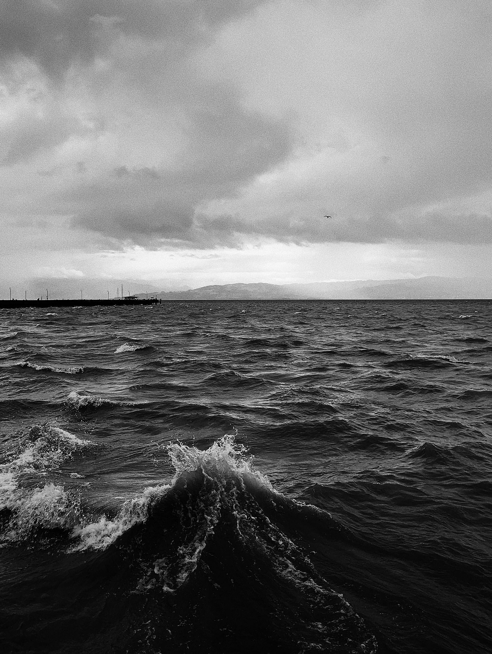 Waves, Langenargen, October 2019