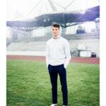 Portrait von David Manuel Herzog für den VfB Stuttgart