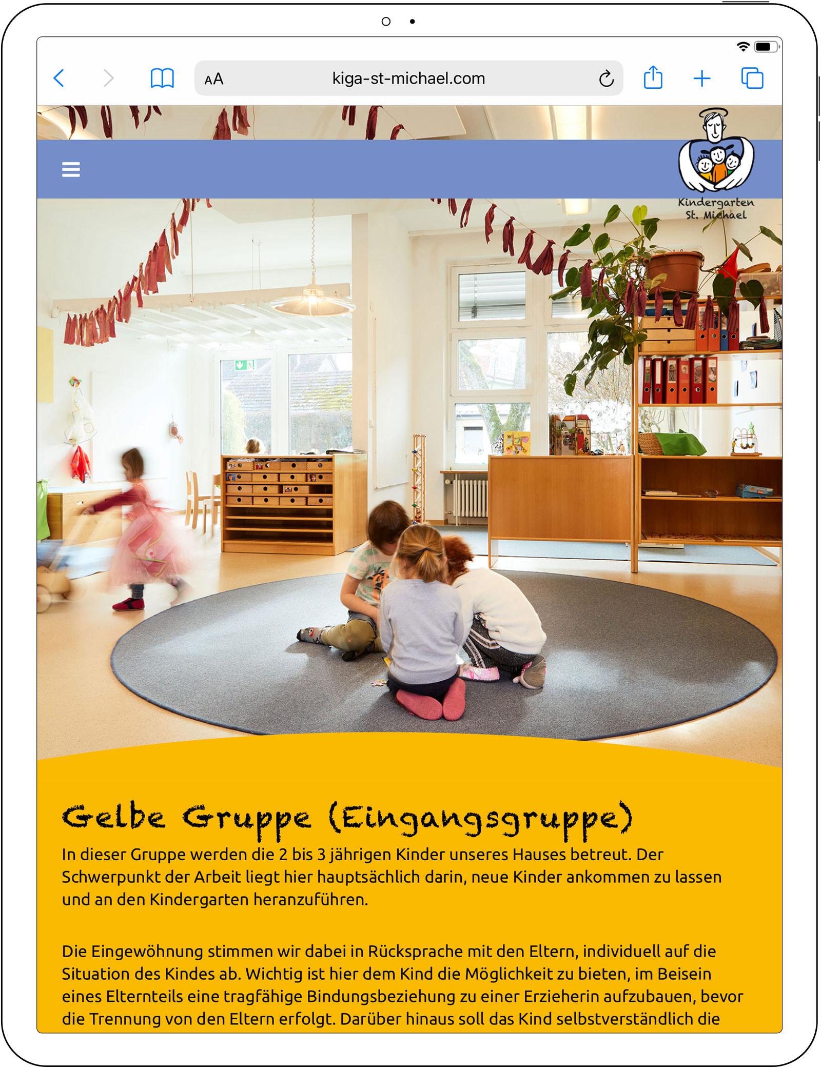 Neue Fotos für die Webpräsenz des Kindergarten St. Michael, Kressbronn am Bodensee, 2020